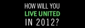 How will you LIVE UNITED in 2012?