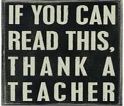 tnank a teacher for teacher appreciation week