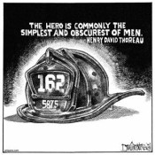 thank a fire-rescue worker