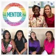 Three matches in the teen mom mentoring program at Healthy Mothers, Healthy Babies.